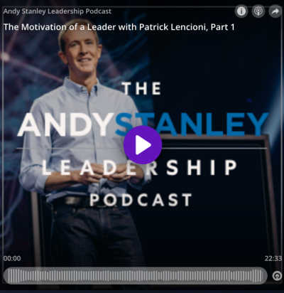 Amid uncertainty and crisis, a leader's motives are prominently on display. Without the right motives, you won't be a healthy or effective leader.